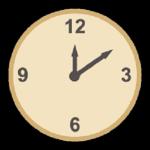 英語での時間の聞き方 時間の答え方